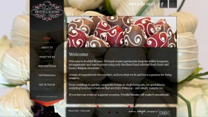 Website design: Fruitful Blooms