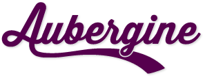 Aubergine – creative graphic and web designers of Leighton Buzzard logo
