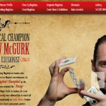 Matthew McGurk Magician & Illusionist website