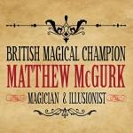 Matthew McGurk Magician & Illusionist branding