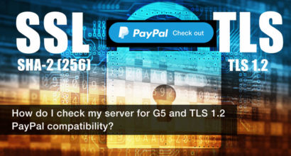 How do I check my IPN SSL TLS 1.2 is compatible with PayPal