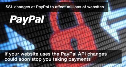 PayPal change SSL requirements