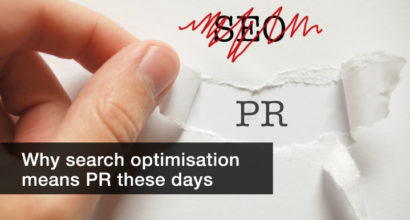 Why SEO is PR these days