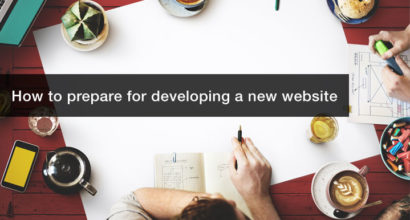 How to prepare for developing a new website