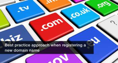 Best practice domain name registration
