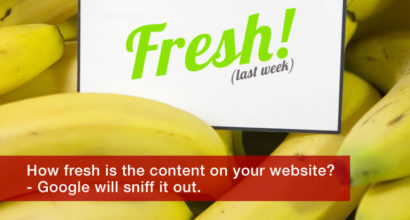 how fresh is your website content?