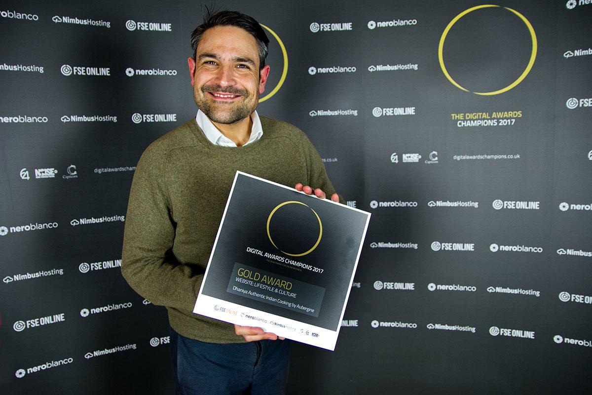 Award-winning web designers Aubergine