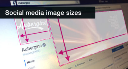 social media website image sizes