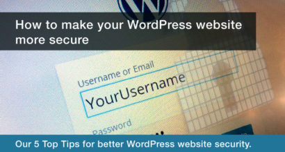 How to make your Wordpress website more secure