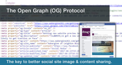 The Open Graph Protocol: The key to better social site content & image sharing