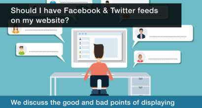 Should I have Facebook and Twitter feeds on my website?