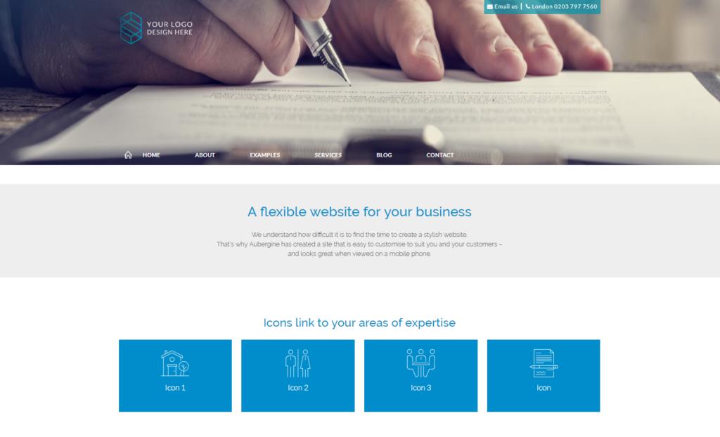 Soho website template