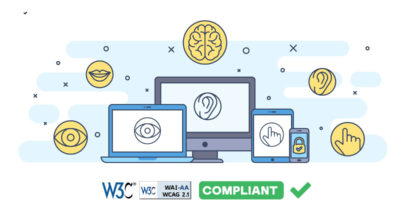 WCAG 2.1 website compliance blog image
