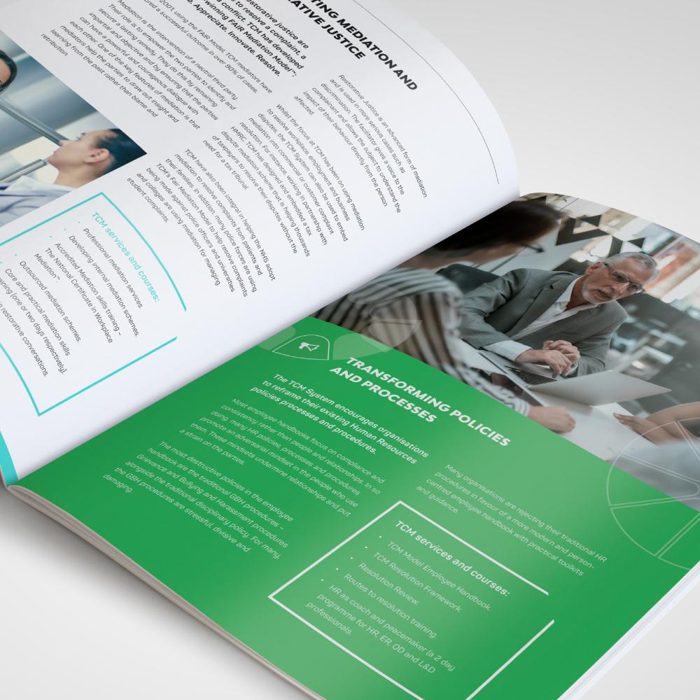 Brochure designer -TCM